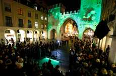 Interactive Projected Promotions - The Munich Launch of 'Xbox Kinect' Featured a Radical