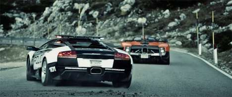 Supercar Chase Ads