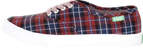 Cozy Plaid Kicks - These Cute Shoes from KEEP will Keep Your Feet Warm for Winter