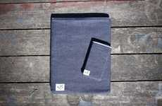 Denim Device Cozies - The Selvedge Sleeves Collection by MS&Co. are Good for Gadgets