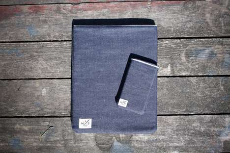 Denim Device Cozies