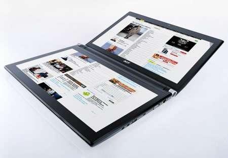 Multi-Screened Notebooks