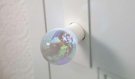 Glass Globe Doorknobs
