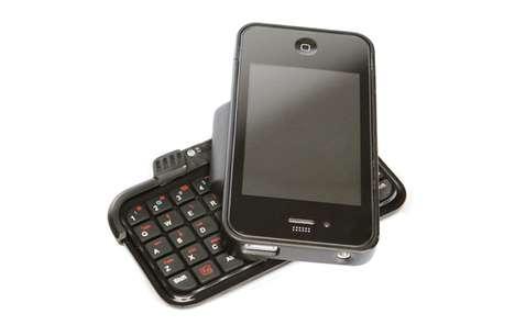 Swiveling Smartphone Keyboards