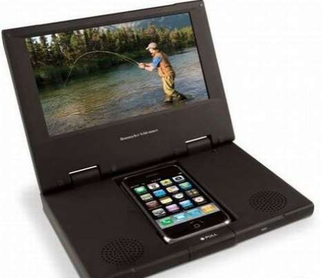 iPhone DVD Player Docks