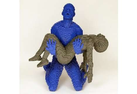 Emotional Toy Statues