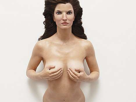Marriage-Saving Sculptures - Stephanie Seymour and Husband Save Their Union With a Nude Statue
