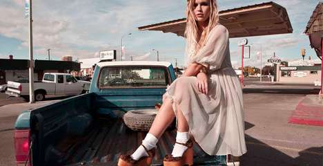 Around-Town Lookbooks - The Jeffrey Campbell Collection is Ready for a Night Out