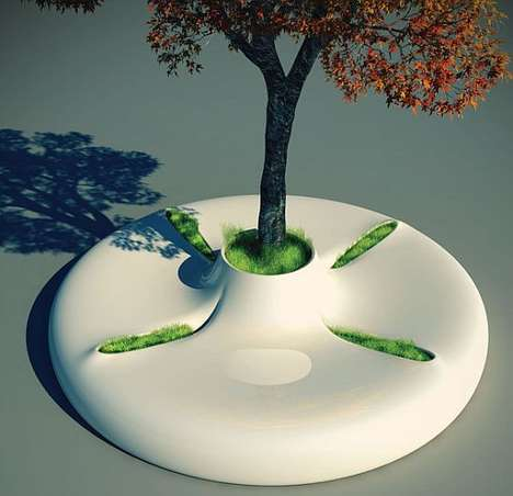 The Tree Bench Offers a Green and Healthy Lifestyle