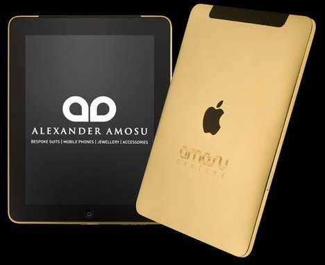 Gold-Plated Tablets