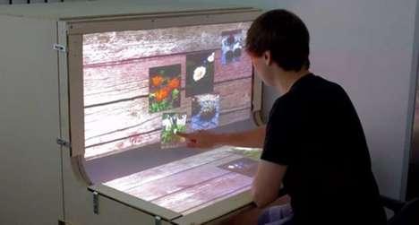 Multi-Touch Work Desks