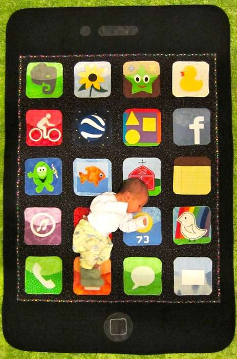 Touchscreen Baby Blankets
