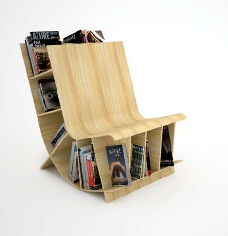 Book Storage Seating