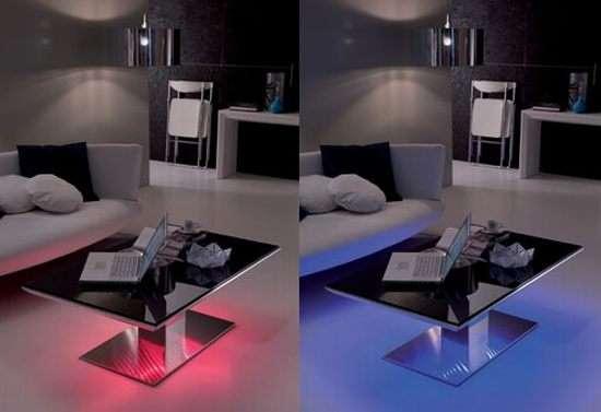 Magic By Ozzio Design.Led Transformer Tables Ozzio Design Flat E Motion Tables