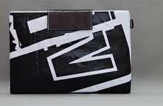 Upcycled Billboard Bags - Nottypooch Sleeves are Original, Stylish and Eco-Conscious