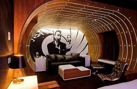 Luxe Secret Agent Chambers - Suite 007 in the Seven Hotel Gives the Bond Treatment