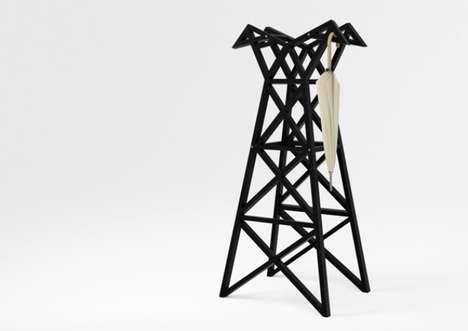 Infrastructure-Inspired Coat Racks