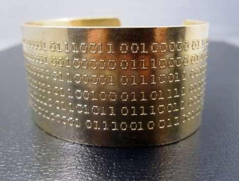 Computer Code Bracelets