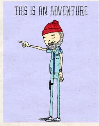 Hipster Actor Art