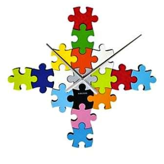 Jigsaw Wall Clocks