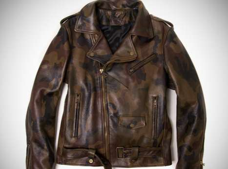 Camouflage Leather Jackets