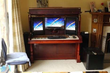 Musical Computer Cases