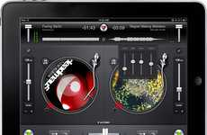 Tablet Turntables  - DJay iPad App Turns You Into a Virtual Music-Playing DJ