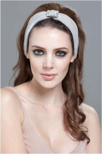 Couture Crown Headbands - Princess Headbands by Maribel Clara Eugenia Add Sparkle to the Holidays