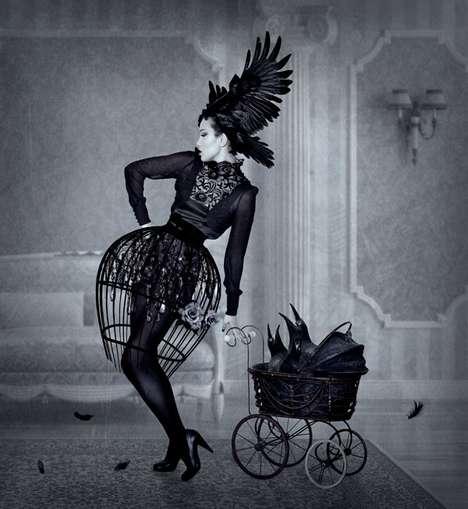 Gothic Raven Photography