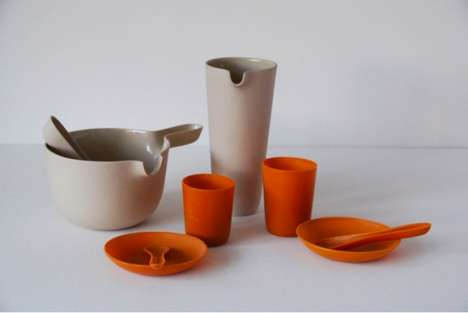 Wax Dishware Sets