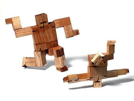 Wooden Breakdancing Toys
