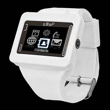 Cellular Touchscreen Timepieces