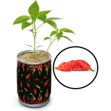 Fire-Starting Flower Pots