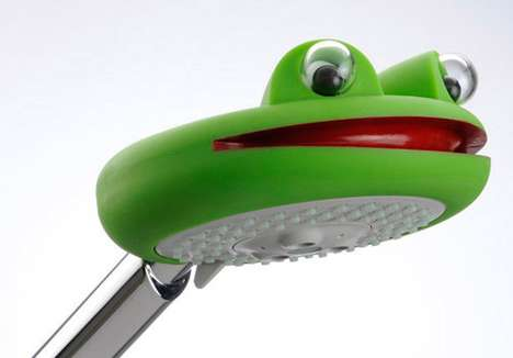 Amphibian Shower Heads