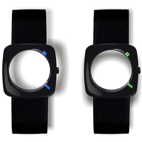 Faceless Timepieces