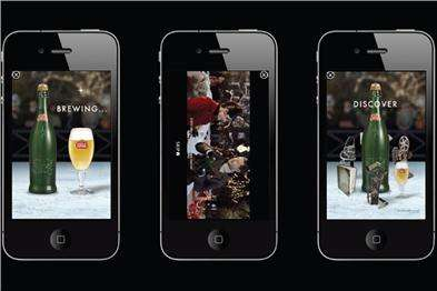 Alcohol Advertising Apps (UPDATE) - The Stella Artois Ice Lounge App is Interactive and Yummy
