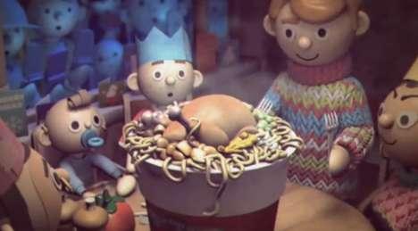 Noel Noodles Commercials
