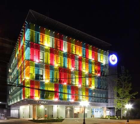 Color Spectrum Structures