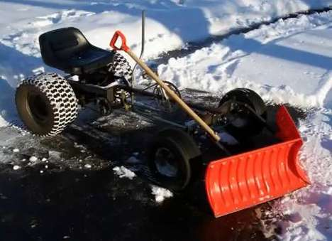 Eco-Conscious Snow Clearers