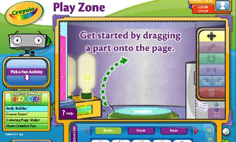 Infantile Interactive Apps
