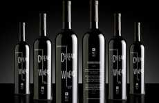 Trapped Miner Wines - British Design Firm Unreal Unveils 'Chilean Winers'