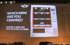 Projected Auto Dispensers - The Mini Vending Machine Serves Up the Latest 2011 MINIs
