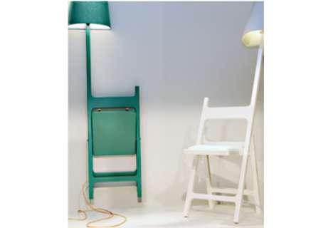 Enfolding Illuminating Seats