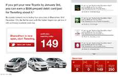 Valuable Marketing Tweets - Toyotathon Shareathon Rewards Customers With $500
