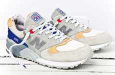 Presidential Sailing Shoes - These New Balance 'The Kennedy' Kicks are Sailing-Inspired
