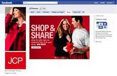 Social Media Merchandising - The JCPenny Shop on Facebook Brings Retail to Online Reticulation