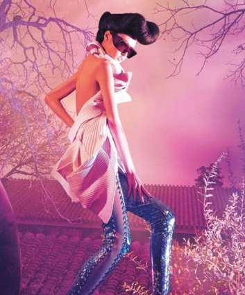 Psychedelic Fantasy Shoots - The Surface Magazine #80 Winter Issue is Swirling With Colors