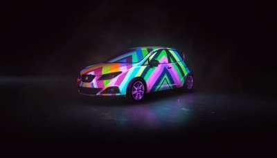 Technicolor Auto Ads