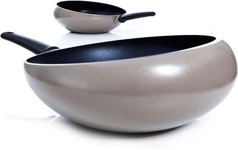 Bulbous Cooking Pans