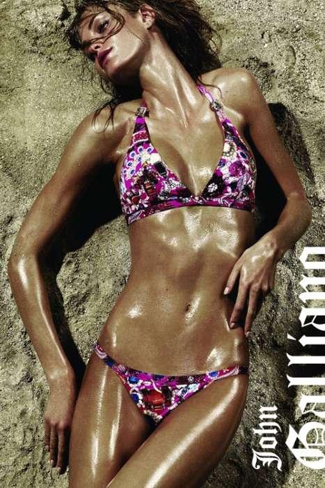 Bronzed Body Ads